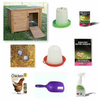 Tanner Trading Duck & Goose Chicken Starter Kit (With Coop)