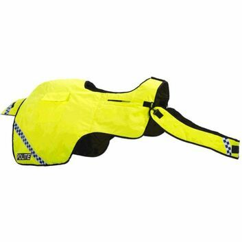 Equisafety Polite Waterproof Quilted Hi-Vis Wrap Around