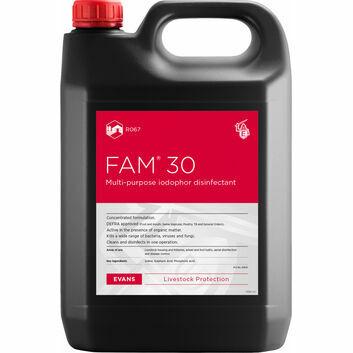 Evans Vanodine Fam 30 Iodophor Disinfectant