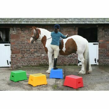 Classic Showjumps Premium Mounting Block One Tread
