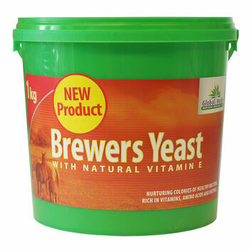 Global Herbs Brewers Yeast - 1 KG