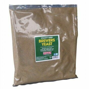 Equimins Straight Herbs Brewers Yeast - 1 KG BAG