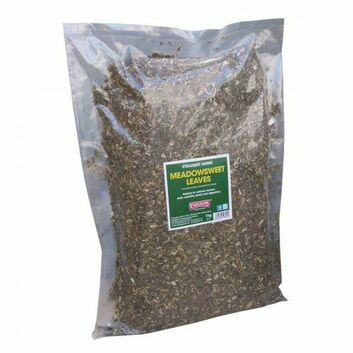 Equimins Straight Herbs Meadowsweet Leaves - 1 KG BAG