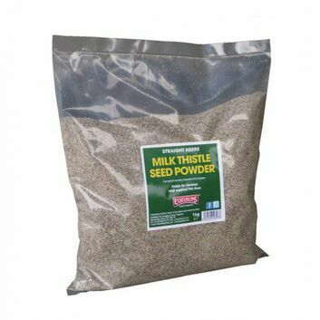 Equimins Straight Herbs Milk Thistle Seed Powder - 1 KG BAG