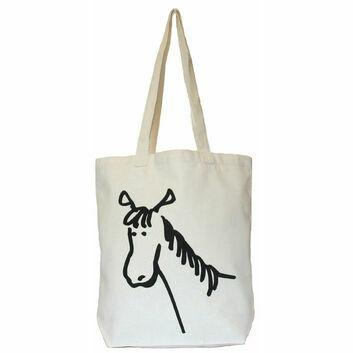 Moorland Rider Horse Stuff Shopper Bag - NATURAL