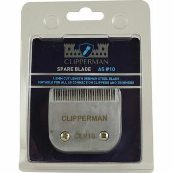 Clipperman A5 #10 German Steel Blade Set - STANDARD