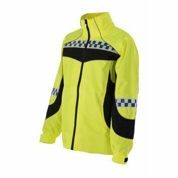 Equisafety Polite Lightweight Waterproof Hi Vis Jacket - MEDIUM