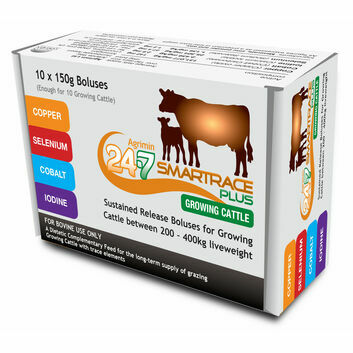 Agrimin 24-7 Smartrace Plus for Growing Cattle - 10 PACK