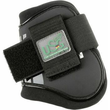 USG Fetlock Boots Black - FULL