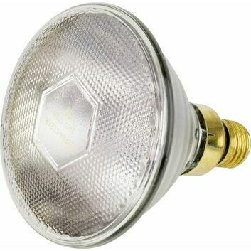 Tusk Intelec PAR38 Es27 Glass Infra-Red Bulb Clear - 175w