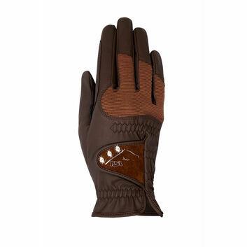 RSL Reno Riding Gloves Brown