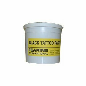 Tattoo Paste - BLACK X 600 GM