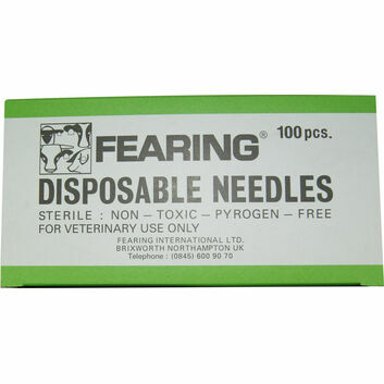 Fearing Disposable Needles