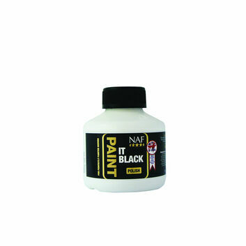 NAF Paint It Black Hoof Polish - 250 ML