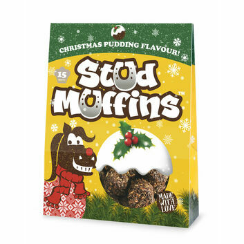 Stud Muffins Christmas Pudding - 15 PACK