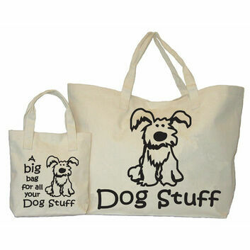 Moorland Rider Dog Stuff Big Bag - NATURAL