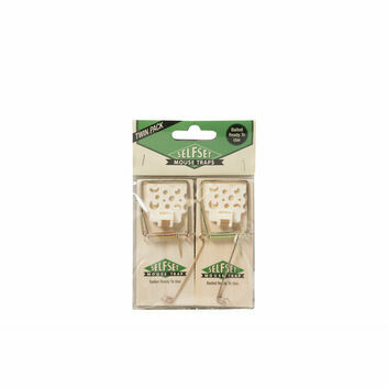 Selfset Mouse Trap Wooden - TWIN PACK