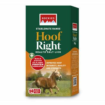 Rockies Hoof Right Health Lick - 10 X 2 KG