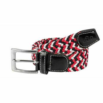 USG Belt Casual Black/Red/White