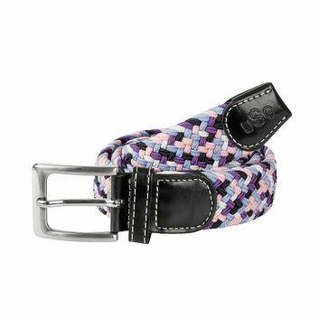 USG Belt Casual Black/Rose/Lilac/Blue