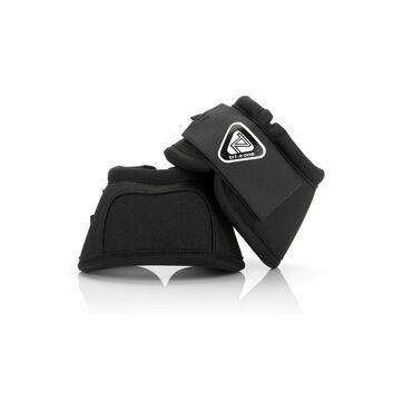 Equilibrium Tri-Zone Over Reach Boots Black