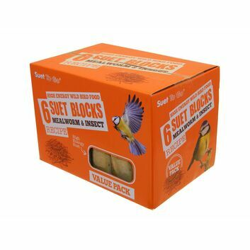 Suet To Go Suet Block Value Pack Mealworm & Insect
