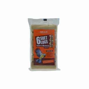 Suet To Go Suet Logs Insect & Mealworm - 90 GM X 6 PACK