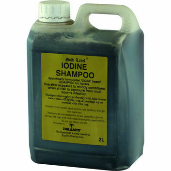 Gold Label Iodine Shampoo - 2 Litre