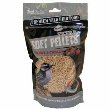 Suet To Go Suet Pellets Extra Peanut & Cherry - 550 GM POUCH