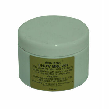 Gold Label Show Brown - 100 GM