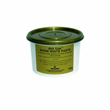 Gold Label Show White Paste