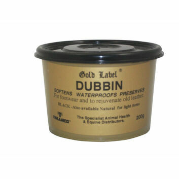 Gold Label Dubbin Leather Rejuvenation