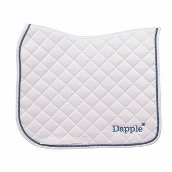 Dapple Saddle Pad Dressage Full - WHITE/LAKE BLUE