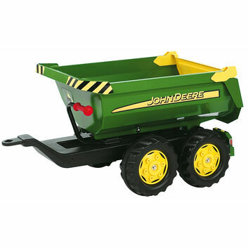 Rolly Halfpipe John Deere Trailer For Ride Ons
