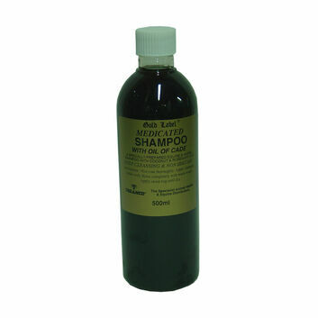 Gold Label Stock Shampoo Medicated