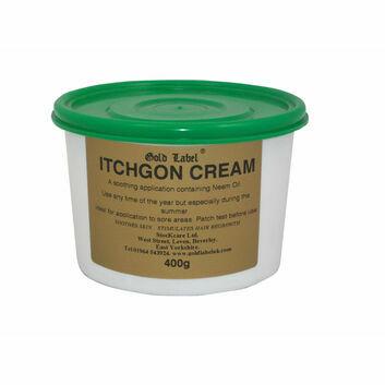 Gold Label Itchgon Cream - 400 GM