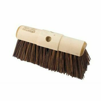 Hillbrush Industrial Stiff Yard Broom B25/5 - 13