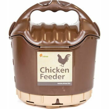 eTree Poultry Feeder - BROWN