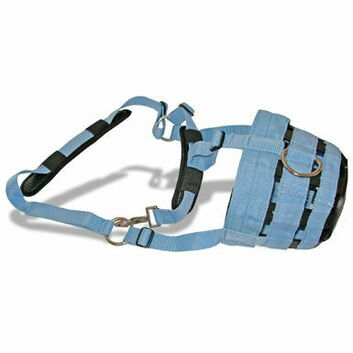 JHL Comfort Grazing Muzzle - Xsmall Pony - BABY BLUE