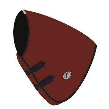 JHL Essential Turnout Rug Neck Cover Burgundy/Navy