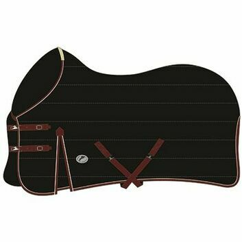 JHL Stable Rug Mediumweight Black/Burgundy/White