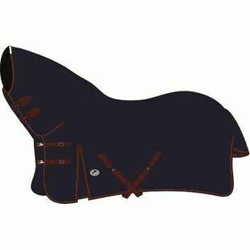 JHL Turnout Rug Heavyweight Combo Navy/Burgundy