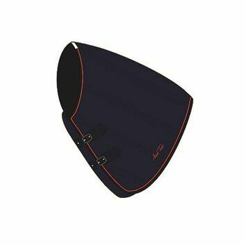 Mark Todd Stable Rug Mediumweight Neck Cover Navy/Orange