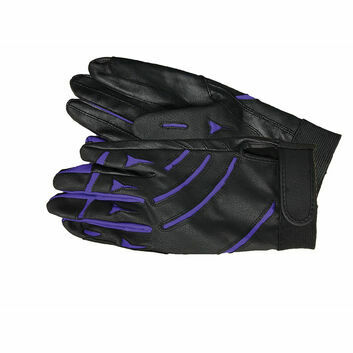 Mark Todd Sports Gloves Black/Royal Blue
