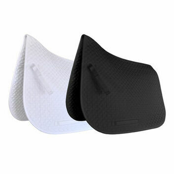 JHL Saddlepad Classic Dressage White