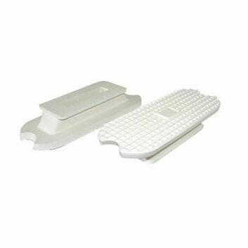 JHL Stirrup Treads Fillis White