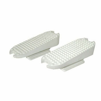 JHL Stirrup Treads Compensating White