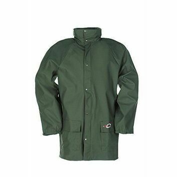 Flexothane Classic Dortmund Rain Jacket Olive Green