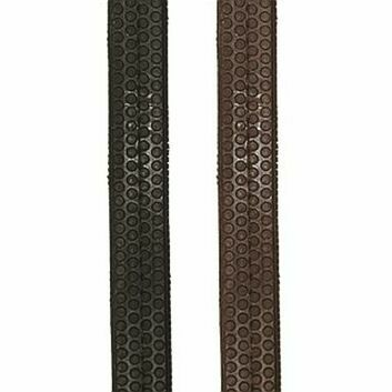 JHL Reins Rubber Grip Black - COB/FULL