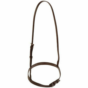 JHL Noseband Plain Brown